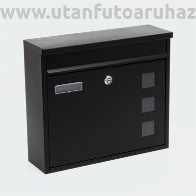 Mailbox Design postaláda V12 fekete