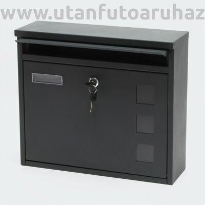 Mailbox Design postaláda V12 antracit szürke