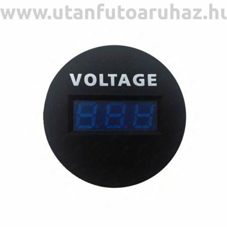 Feszültség mérő  6 - 33 V, Ø 26,4 mm