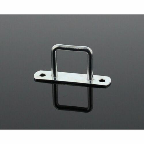10x ponyva rögzítő szögletes  25mm lyuk távolság: 51mm