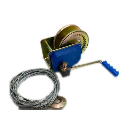Kézi csörlő 1800 kg  - drótkötéllel
