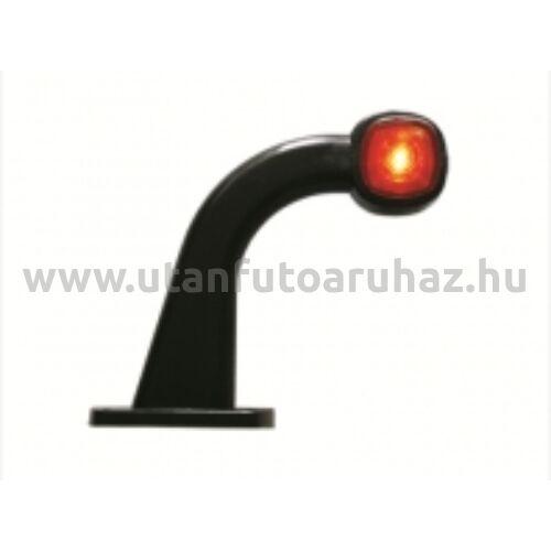 Helyzetjelző lámpa DOB-64 LED,PIROS-FEHÉR