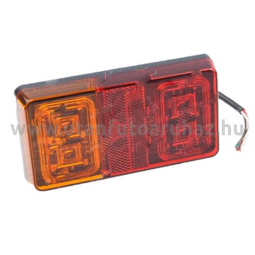 LED hátsó lámpa  rendsz.vil.nélkül - 150x80mm