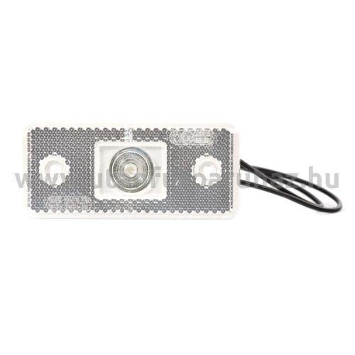 Helyzetjelző W17D (105P) első FEHÉR LED