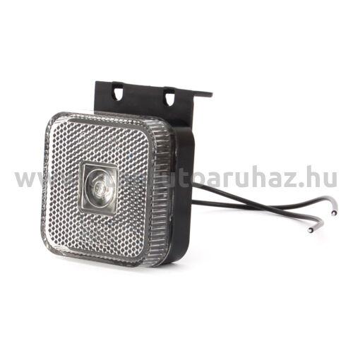 Helyzetjelző W63 (303Z) első FEHÉR LED tartóval