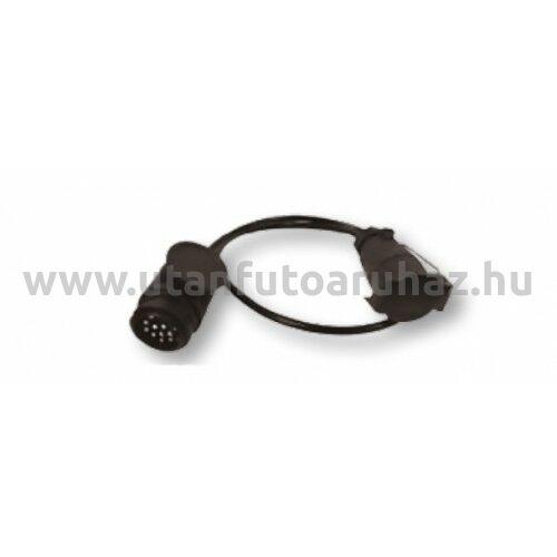 Adapter kábel 13  pólusú dugó/7 pólusú dugalj