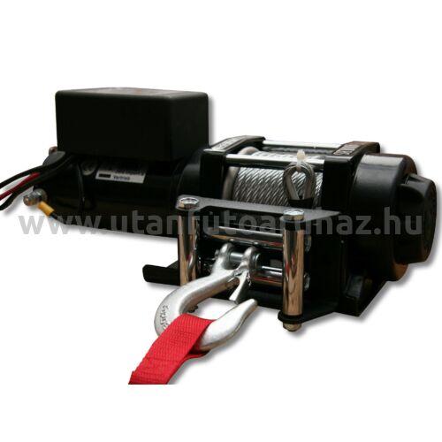 Elektromos csörlő 3500Lbs - vezetékes távirányítóval