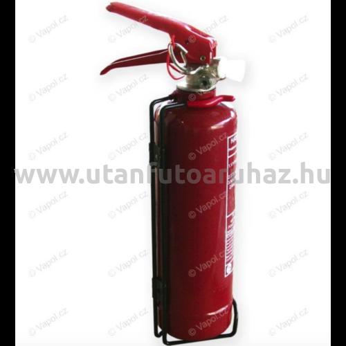 Tűzoltó készülék 1kg porral oltó CZ + REVIZ