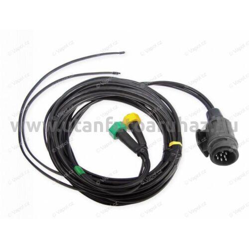 Utánfutó elektromos vezeték 13pin / 5 m lámpa nélkül + 3,1 m, helyzetjelző kivezetéssel