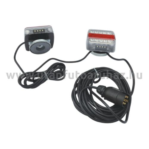 LED világító készlet hátsó lámpával mágneses 7,5 + 2,5M kábelre