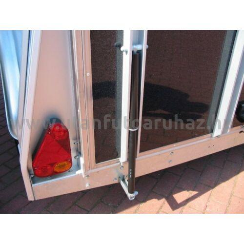 Gázrugó lószállító utánfutó  - hátsó ajtó  570 mm
