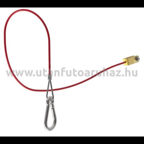 Knott szakadó kötél - fékezett utánfutóhoz - 1055 mm