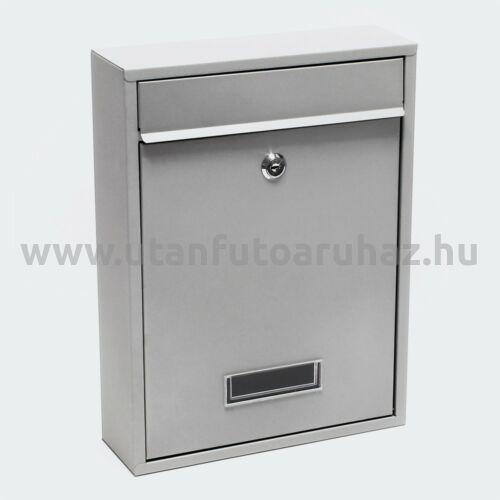 Premium Postbox postaláda V11 szürke horganyzott