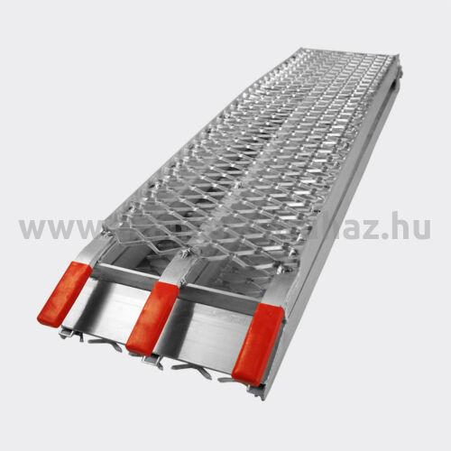 Aluminium rámpa 220 cm 340 kg teherbírás