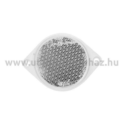 Prizma FEHÉR FI75U (26) 85mm átmérő, 2 furatos